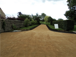 New drive way constructon