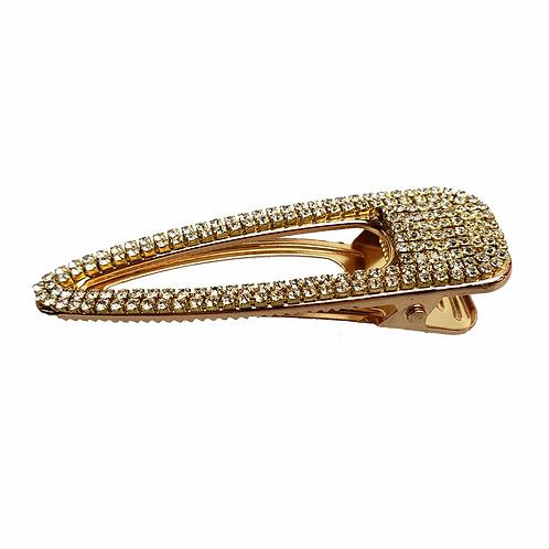 Hair clip goud of zilver
