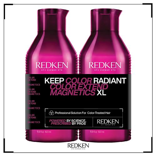 Color extend shampoo & conditioner XL (500ml)