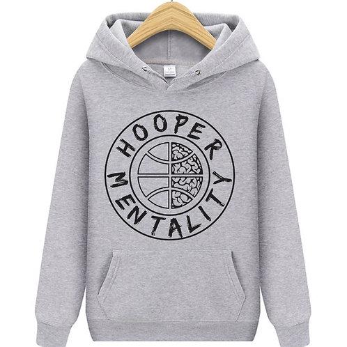 HOOPER MENTALITY HOODIE - Sport Grey