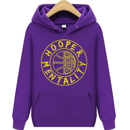 HOOPER MENTALITY HOODIE - KB24 Purple