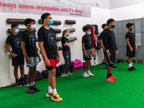 "Maryland Organization ""Imagine An Athlete"" Hosts Training Camp for Athletes"