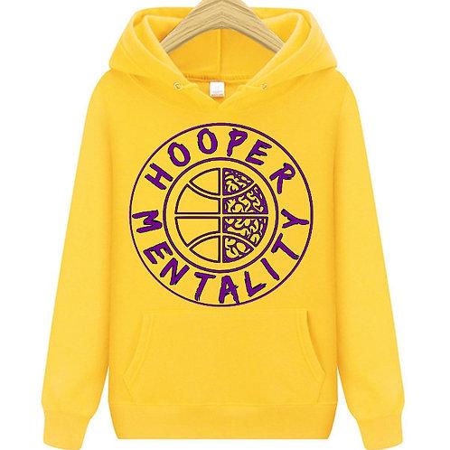 HOOPER MENTALITY HOODIE - KB24 Yellow