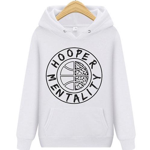 HOOPER MENTALITY HOODIE - White