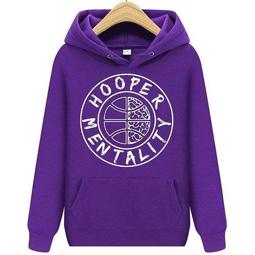 HOOPER MENTALITY HOODIE - Lupus Purple