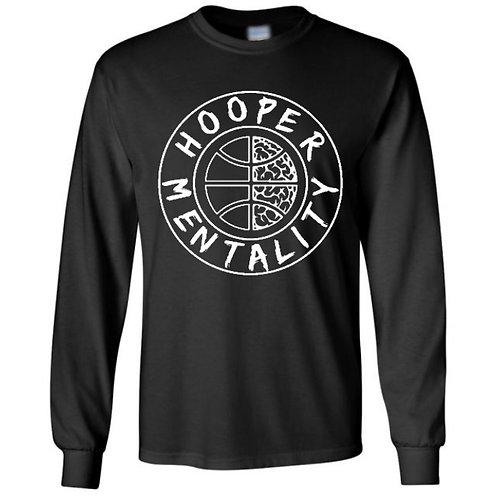 HOOPER MENTALITY Long Sleeve T-Shirt - Black
