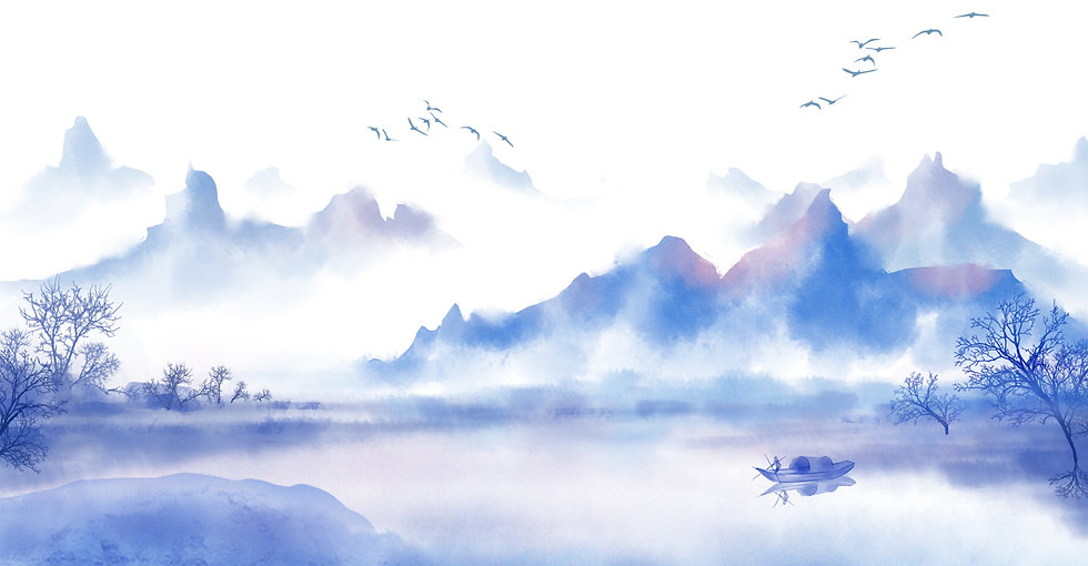 —Pngtree—chinese style landscape ink ant