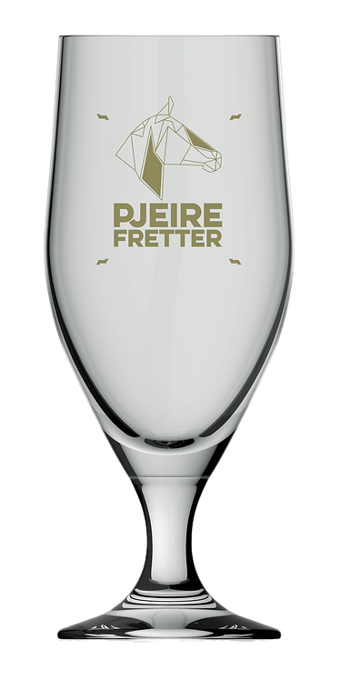 Glas Pjeirefretter Goud
