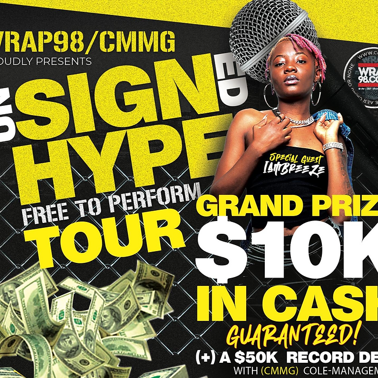 Unsigned Hype Tour