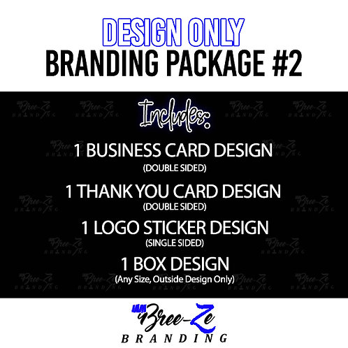 DESIGN BRANDING PACKAGE #2 // FOR ANY BUSINESS