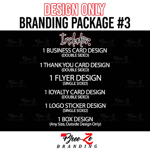 DESIGN BRANDING PACKAGE #3 // FOR ANY BUSINESS