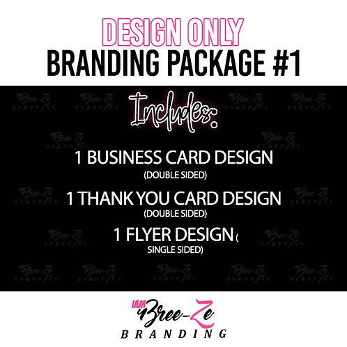 DESIGN BRANDING PACKAGE #1 // FOR ANY BUSINESS