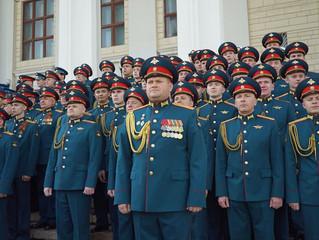 Торжественное открытие 7-ого всеармейского смотр-конкурса военных ансамблей