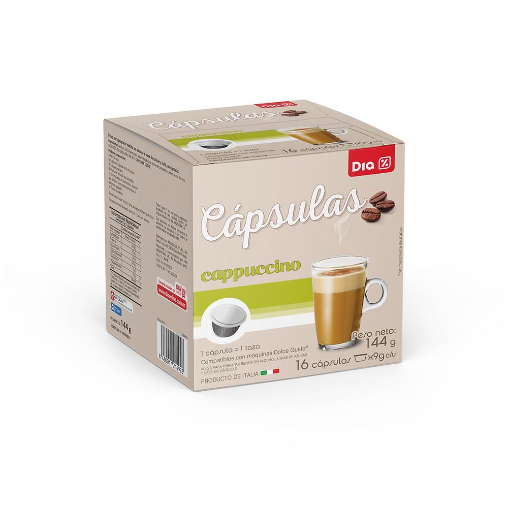 cápsulas café Día