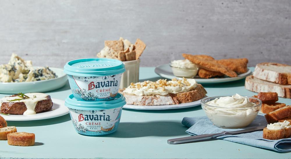 Crème de queso azul Bavaria