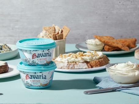Bavaria lanza su nueva Crème de queso azul