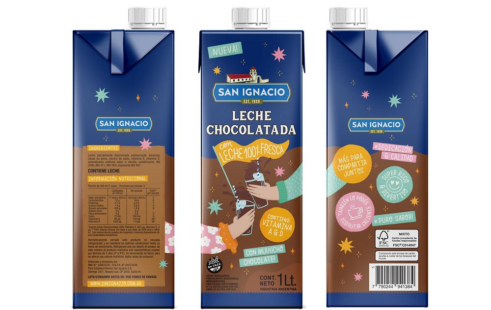 leche chocolata san ignacio