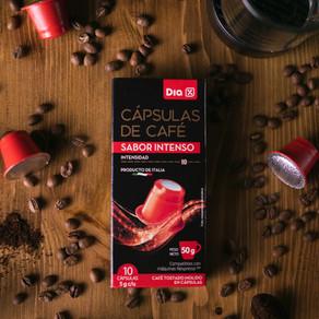 Supermercados Día tiene sus propias cápsulas de café