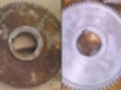 Пескоструйная обработка металических изделий