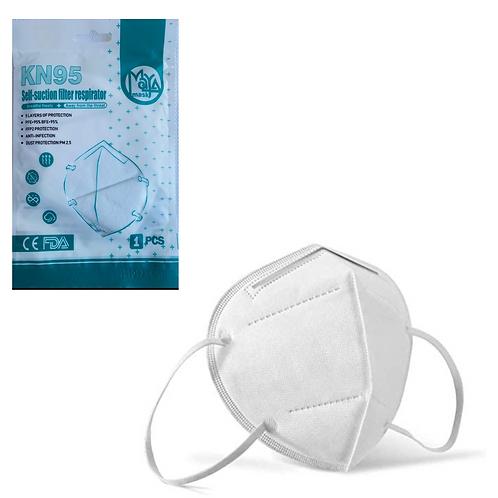 5 pcs KN95 FDA mask