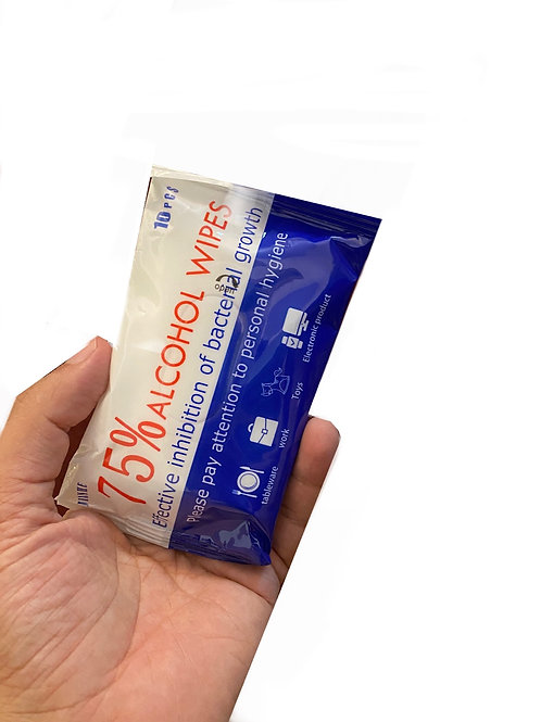 pocket pack 75% Alcohol Disinfecting Wipes