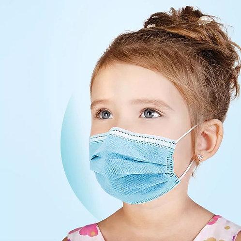 Kids 50 pcs disposable face masks