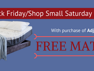Black Friday & Shop Small Saturday Sale | FREE MATTRESS!!!