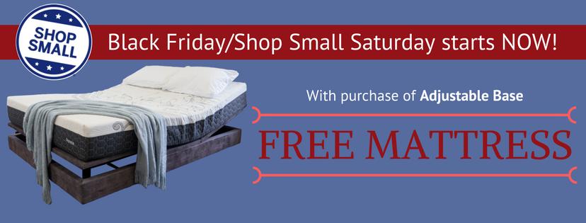 Black Friday Shop Small Saturday Banner