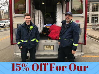 15% Off for Hometown Heroes