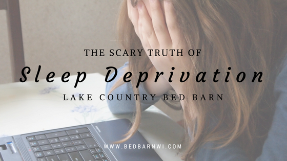 Title Image- The Scary Truth of Sleep Deprivation
