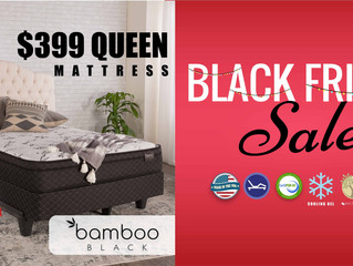 $399 Queen | FREE Fitness/Sleep Tracker | Black Friday Sale