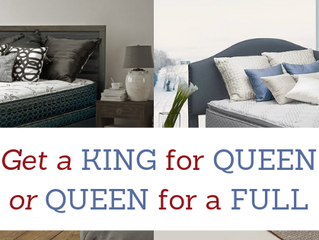 FEBRUARY ONLY: Get a KING for a QUEEN or QUEEN for a FULL