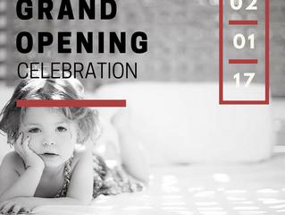 Grand Opening Celebration 02/01/17
