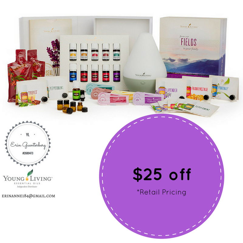 $25 off Young Living Essential Oilds