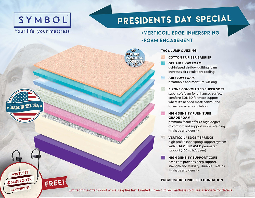 President's Day Special Mattress