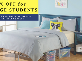 10% Off For College Students: Solutions for Small Budgets and Even Smaller Places
