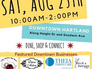 5th Annual Sidewalk Sale | Downtown Hartland