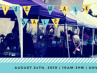 WANTED Vendors, Crafter's, & Farmer's Market | 6th Annual Sidewalk Sale