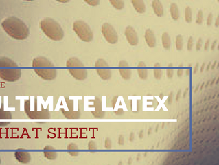 The Ultimate Latex Mattress Cheat Sheet