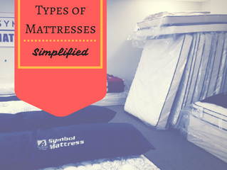 Types of Mattresses- Simplified