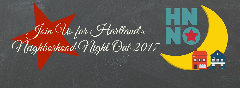 Join us Aug 3rd for Hartland's Neighborhood Night Out