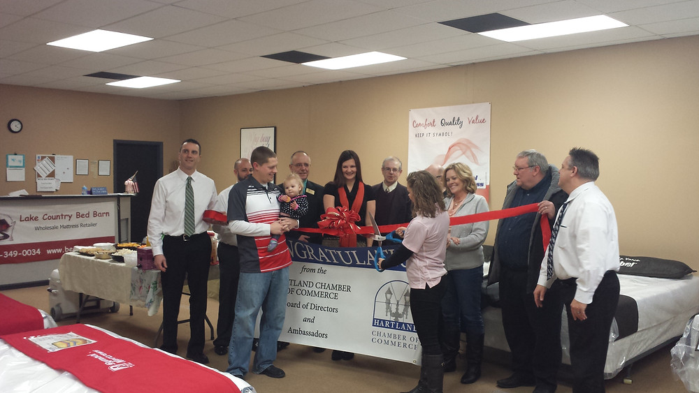 Ribbon Cutting with the Chamber