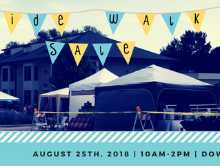 Vendors, Crafter's, & Farmer's Market | Needed for 5th Annual Sidewalk Sale