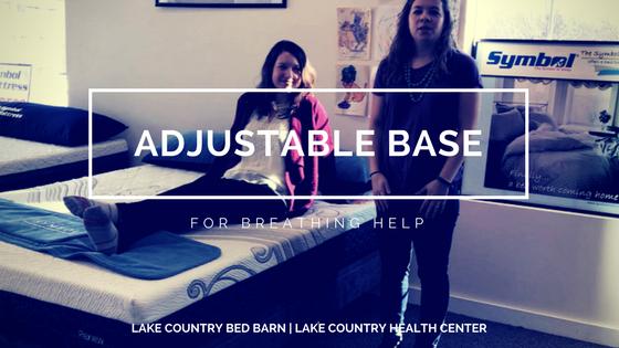Adjustable Base for Breathing Help