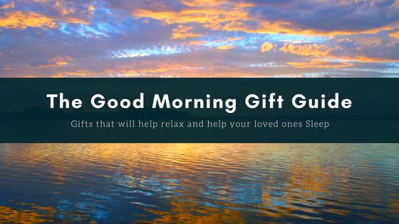 The Good Morning Gift Guide banner