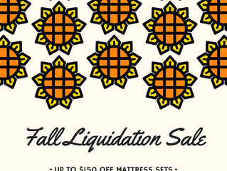 Fall Liquidation Sale