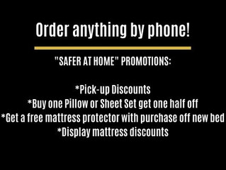 Free Delivery   Safer at Home Promotions