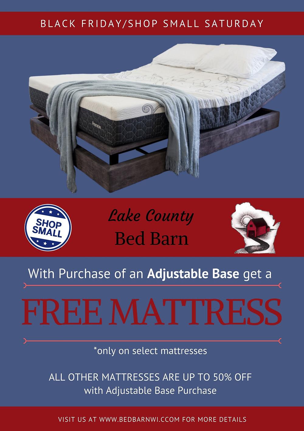 Free Mattress Poster