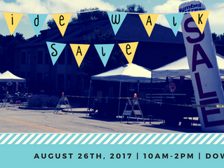 Sidewalk Sale | Fourth Annual | Downtown Hartland Event