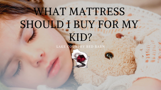 What Mattress Should I Buy for my Kid? Title Image